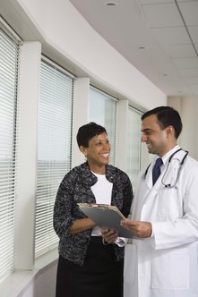 Office managers handle administrative duties so doctors can focus on patients.