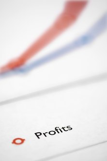 Accounts on a profit and loss statement either increase or decrease profit.