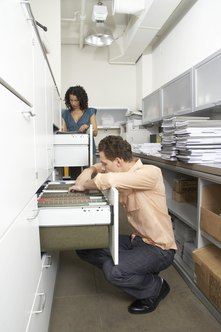 A good information storage and retrieval system decreases time spent looking for missing information.