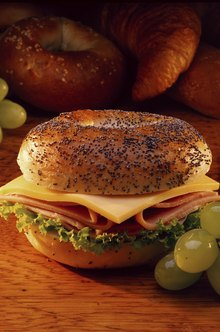 Bagels are an increasingly popular food item.