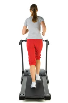 For additional calorie burn, use wrist weights on the treadmill.