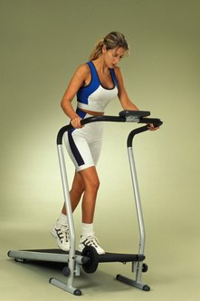 Incorporating inclines on a treadmill can help target the buttocks, and improve their shape.