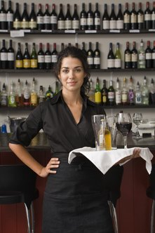 Waitresses must report tips on their income tax returns.