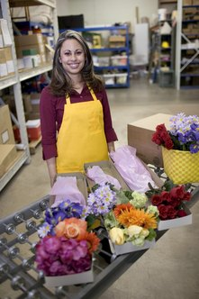 Flower distributors provide for local, regional and national florists.