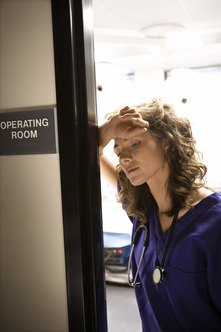 Stress is a frequent occurence in nursing work.