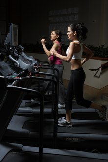 Treadmills measure total calorie burn.