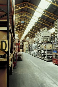 The FIFO method is used to figure the cost of inventory sold.