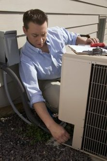 Refrigerant lines must be vacuumed after installing or reinstalling an A/C unit.