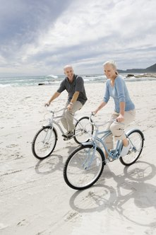 Cruiser bikes are very simple and very durable, making them ideal for casual beach rides.