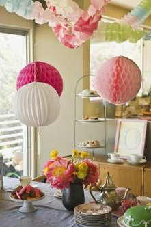 Creating your own decorations adds a personal touch to a party.