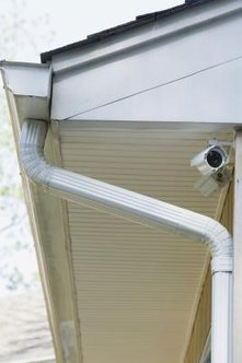 You can seal leaks in galvanized gutters.