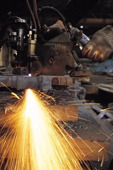 Some manufacturing jobs can be dangerous, requiring strict safety rules.
