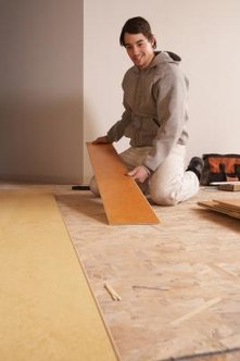 Any appreciable damage to a Pergo floorboard usually means replacing it.