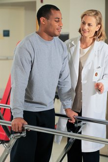 Physical therapists provide rehabilitation exercises to help patients recover from injuries.