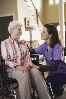 Community health nurses often work in patient's homes.