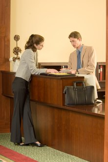 Hotels are subject to the travel needs of tourists and business professionals.