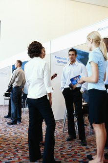 Prepare a 60-second elevator speech for job fairs, networking events and chance encounters with decision-makers.