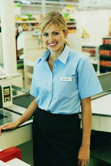 Cashier experience is often a stepping stone to other jobs including promotions in retail.