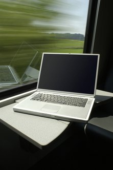 Some businesspeople still need a laptop's track pad to work.