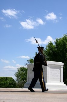 A Military Honor Guard member performs many duties.