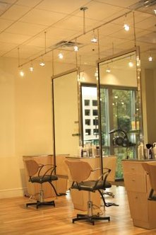 The amount of space and style of the salon affects pricing.