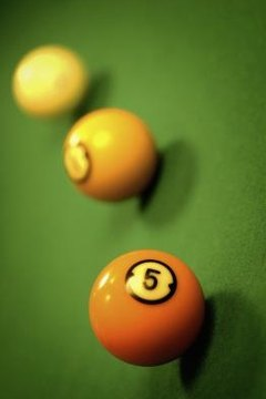 A few billiard balls can serve as the heart of one way to demonstrate force and motion.
