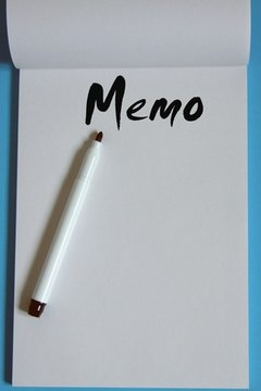 Strive for brevity when you write your memo to teachers.