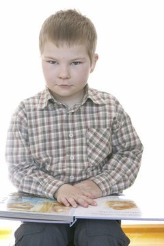 The QRI-4 test can determine a child's reading level.