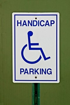 The ADA governs handicapped parking spaces.