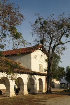 The missions were among the earliest European settlements in California.