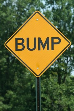 Requesting speed bumps usually begins with a city planning department.