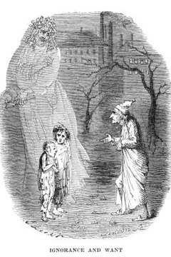A descriptive essay on a child could be based on a single character from Dickens' novels.
