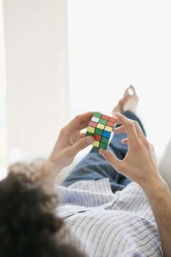 The Rubik's Cube is a 3D mechanical puzzle.