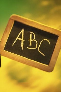 Learning the alphabet is a first step in language comprehension.