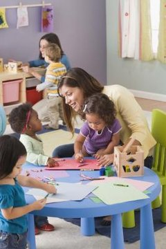 Observing the children during the lesson helps you evaluate the plan.