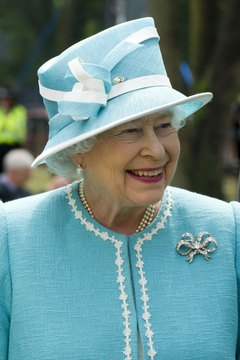 Queen Elizabeth II and others in the British royal family all speak the Queen's English.
