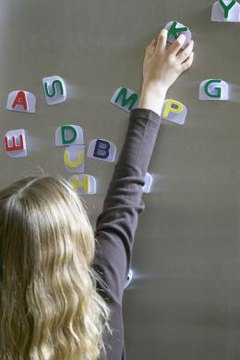 Teaching a child the letters of the alphabet is the first step in reading instruction.