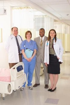 Health care administration graduates learn to collaborate with medical teams.