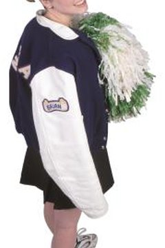 Many students are proud of their letterman jackets and keep them for decades.