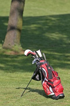 A light bag with a stand is ideal if you carry your own clubs.