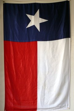 Section 3100.073 of the Texas Government Code stipulates how to properly fold the flag..