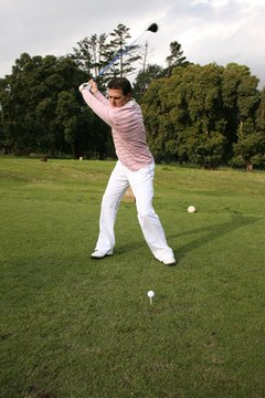 The top of the backswing is where power begins, assuming you've properly transferred your weight and rotated your hips.