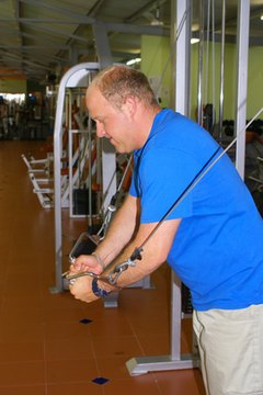 Shoulder and chest exercises can add strength and improve your golf game.