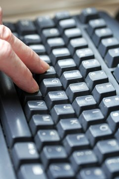 Typing exercises will help you increase your speed.