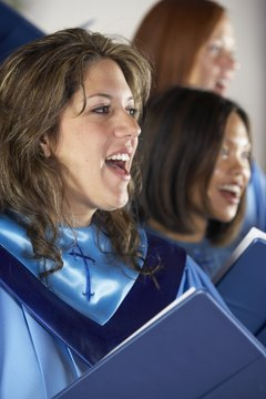 Traditional hymns vary from church to church.