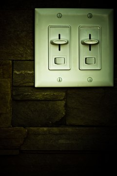 Dimmer switches can help you save money on your electric bill.
