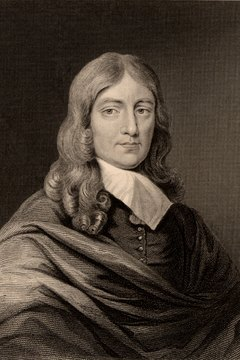 This portrait of John Milton captures the poet at the height of his powers.