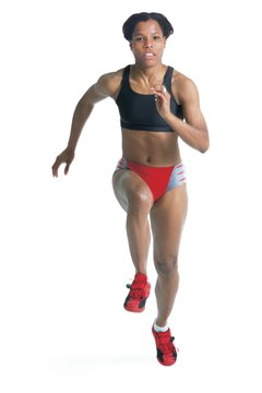 Incorporating speed workouts can improve your 400 or 800 meter runs.