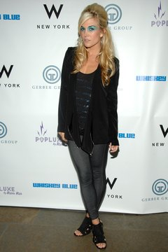 Pairing a long cardigan with leggings, as actress and A-lister Tinsley Mortimer does here in New York in 2010, gives you a stylish, balanced look.