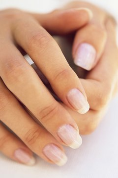 Diet impacts fingernail appearance.